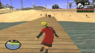 GTA San Andreas las aventuras de Naruto (loquendo)
