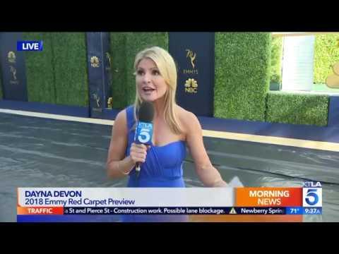 Dayna Devon Ps The 2018 Emmy Awards On The Gold Carpet