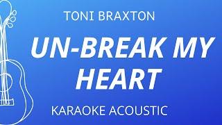 #singahit #unbreakmyheart #tonibraxtonunbreak my heart - toni braxton (karaoke acoustic guitar)instrumental cover with lyricstempo: 110 bpmkey: cm, ...