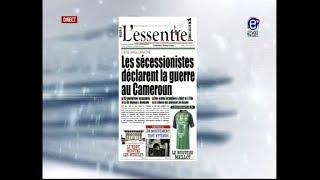 ÉQUINOXE TV LA REVUE DES GRANDES UNES DU 09 11 17