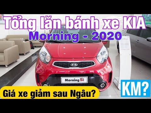 Tổng lăn bánh KIA Morning 2020, Giá xe giảm sau Ngâu?