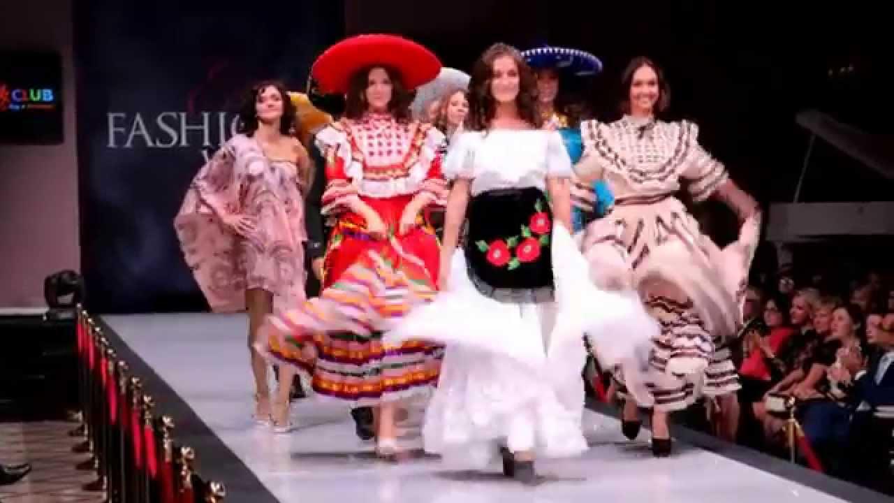 Mexican Fashion Art/Показ Мод Estet Week | одежда девушек мод