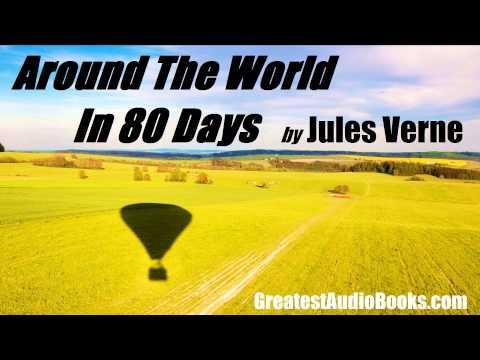 AROUND THE WORLD IN 80 DAYS by Jules Verne - FULL AudioBook   GreatestAudioBooks.com V5