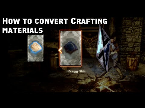Dragon Age Inquisition: How to Convert Crafting Materials