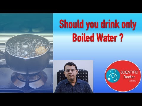 Boiled Water | Should you drink only Boiled Water | Explained