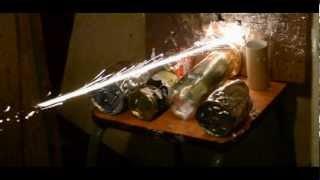 Стрельба пулями «Блик» из пистолета Аникс А3000