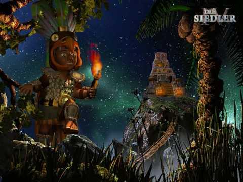 Die Siedler IV ~ Maya standard Musik 1
