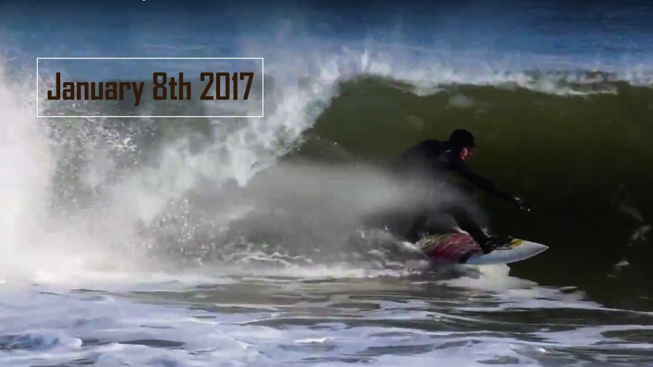 January 8th 2017  - Cold Water Surf
