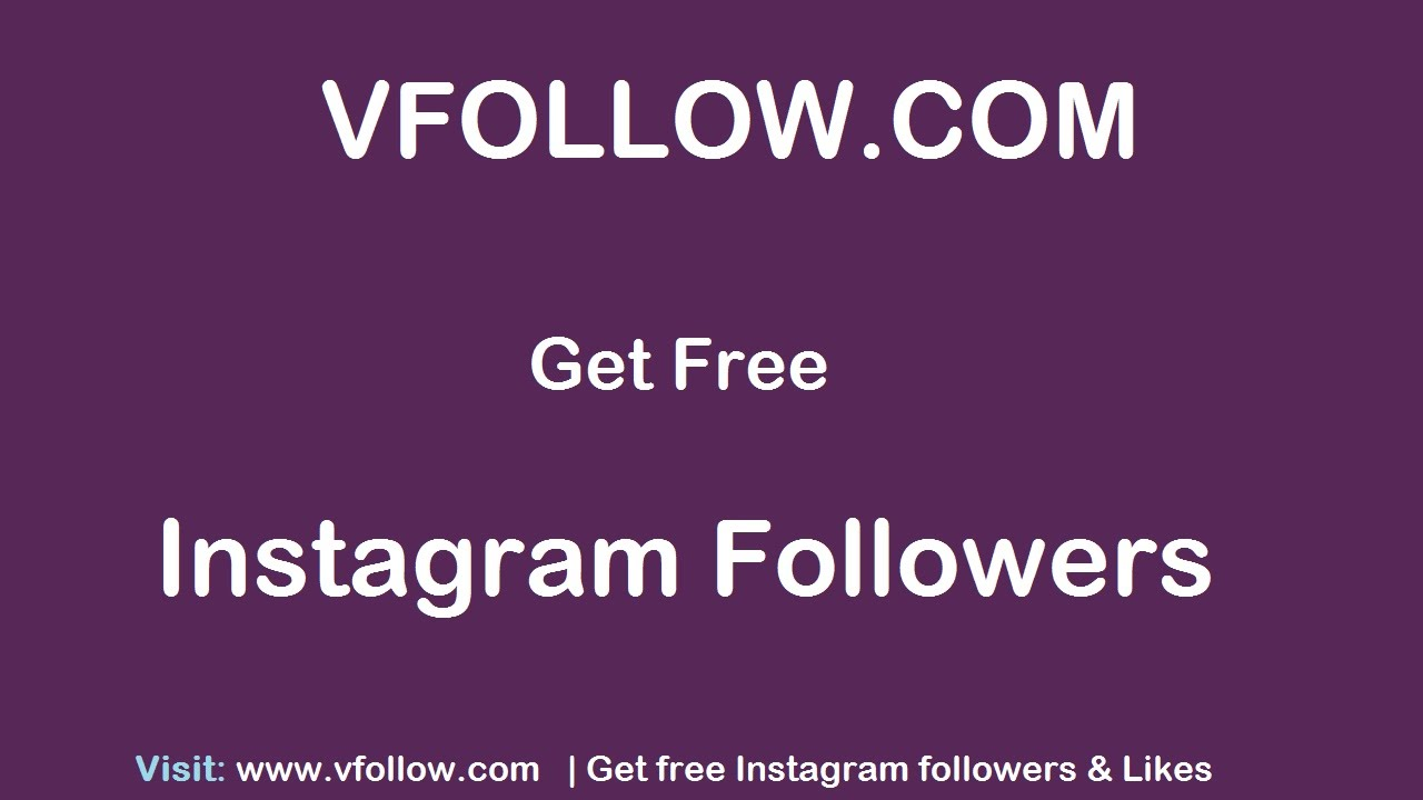 how to get free followers on instagram