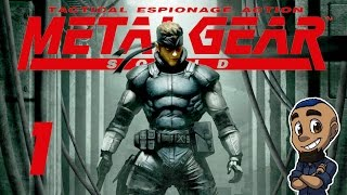 SOLID SNAKE | Metal Gear Solid 1 (MGS1) | Part 1 | Gameplay Walkthrough [PS1 HD 1080p]