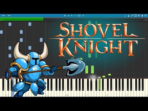Main Theme - Shovel Knight (Piano sheet music/MIDI) (Synthesia)