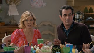 Phil and Claire at the Grandparents Table - Modern Family