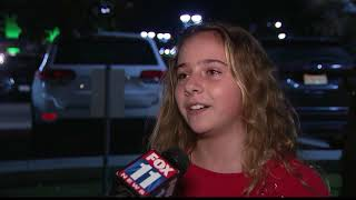 11-year-old Malibu girl's positive message about being evacuated is helping fire victims