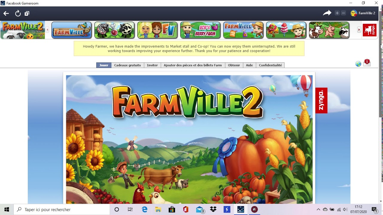 how to play farmville 2 on facebook
