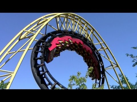 Corkscrew off-ride HD Silverwood Theme Park