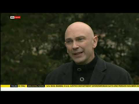Prison Drug Drops By Drones: Shaun Attwood on Sky News
