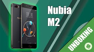 Unboxing Nubia M2 en español