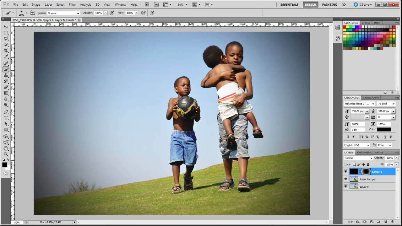 Photoshop CS5 – How to make your photos stunning in 3 easy steps in photoshop cs5