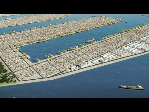 Singapore's $20BN Plan To Conquer Sea Trade: Tuas Mega Port