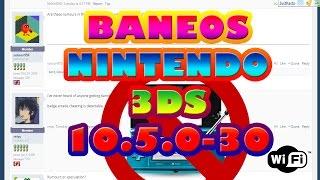 BANEOS EN NINTENDO 3DS 10.5.0-30