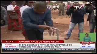 Quatro anos de Filipe Nyusi: PR  privilegiou a expansão de fontes de abastecimento de água