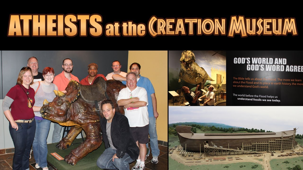 Atheists At The Creation Museum Funnydog Tv