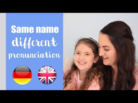 10 Baby Names Pronounced DIFFERENTLY In German & English