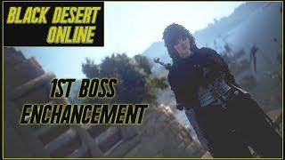 Black Desert Online   Upgrading My 1st Boss Weapon