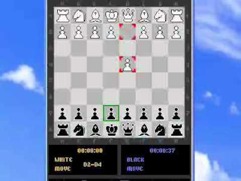 Mobile phone chess match 1