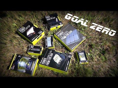 Goal Zero - обзор солнечных батарей и зарядных устройств