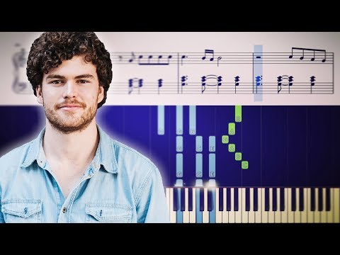 Vance Joy - Riptide - Piano Tutorial + Sheets