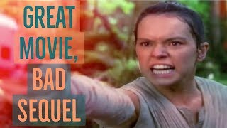 The Force Awakens: Great Movie, Bad Sequel