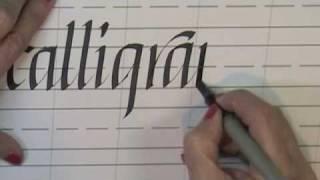 Italic Calligraphy Online Class