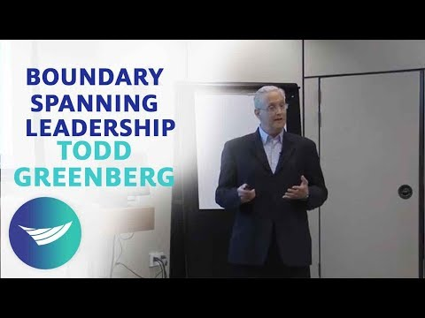 Boundary Spanning Leadership: Todd Greenberg -  CCL Speakers Bureau | CCL