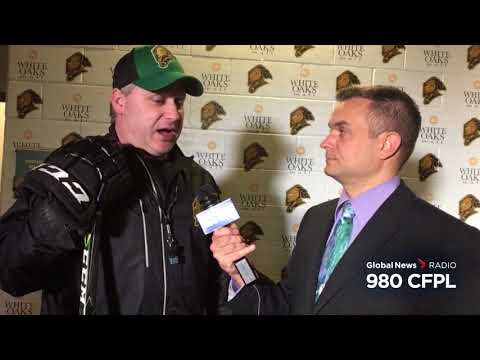 Rick Steadman talks about the London KnightsSarnia Sting rivalry