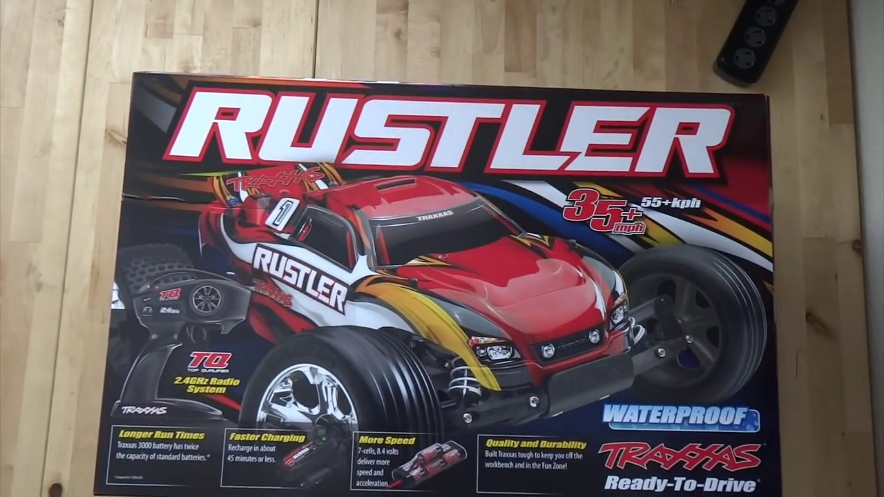 Traxxas Rustler Related Keywords Suggestions Long 1 10 Scale Unboxing Review Youtube