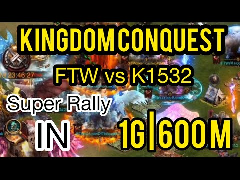 Clash Of Kings - Kingdom Conquest FTW Vs K1532
