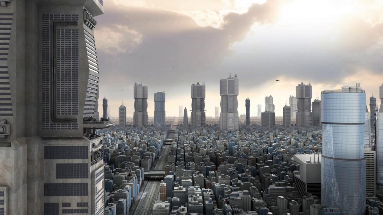 3d Action Wallpaper Hd Mega City One Greeble Plugin Youtube