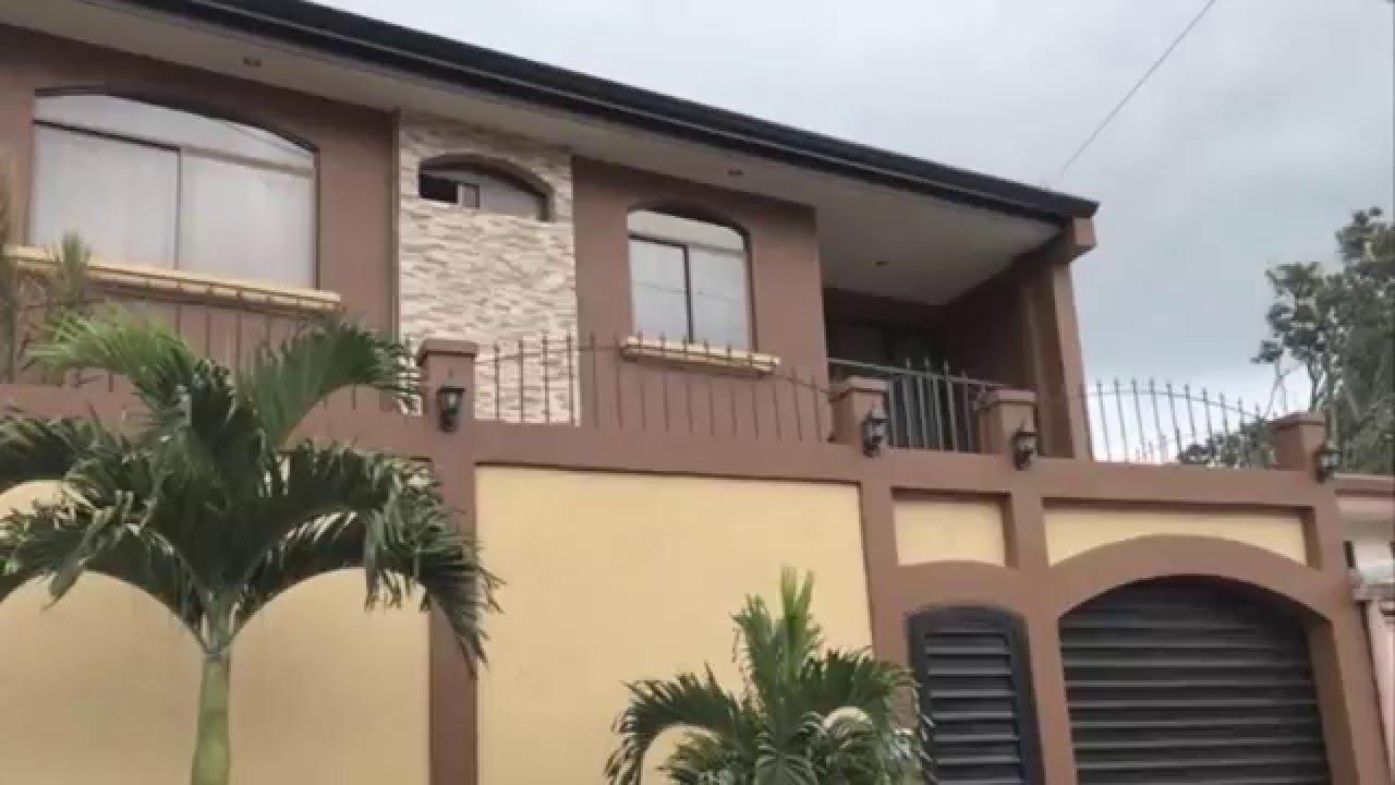 Casa en venta costa rica la uni n cartago youtube - Venta de apartamentos en la costa ...