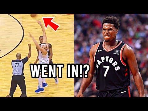 "NBA ""WOW Shots"" Moments"