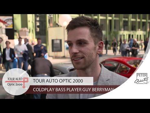 Guy Berryman (Coldplay) at the Grand Palais (Paris)