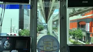 【前面展望】千葉都市モノレール桜木→都賀