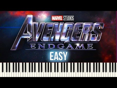 How To Play: Avengers - Endgame (Official Trailer 2 Music) | Piano Tutorial EASY + Sheets thumbnail