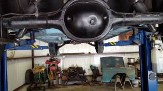 1964 comet Caliente undercarriage