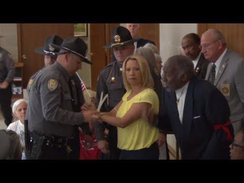 30+ arrested at N. Carolina General Assembly during healthcare demo