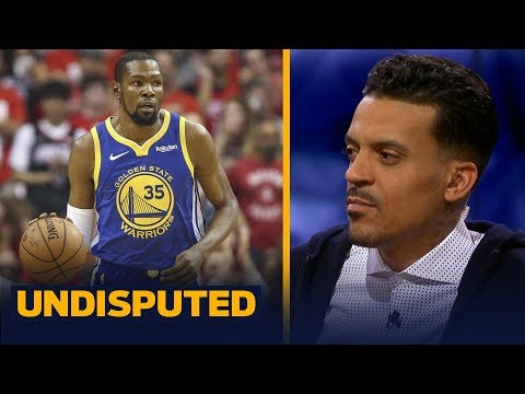 KD's injury may be 'more serious' than the Warriors are letting on — Matt Barnes | NBA | UNDISPUTED