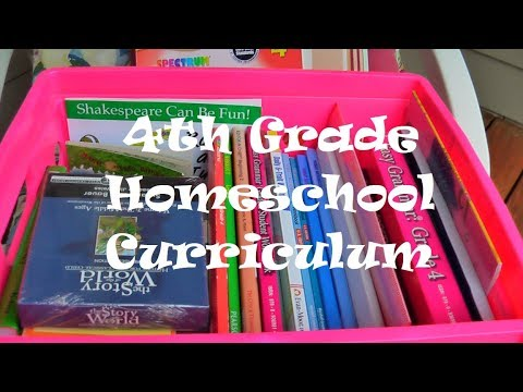 Fourth Grade Curriculum Choice 2017 2018