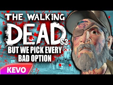 Walking Dead S3 but we pick every bad option
