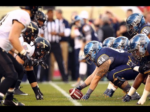 Navy Midshipmen Football - Army Navy Game College Football - United States Naval Academy