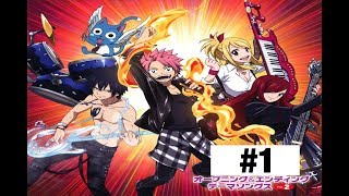 "Fairy Tail High (Nalu and more) ""The Band"" #1"